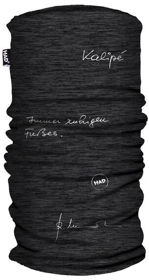 HAD Printed Fleece  Halsbedekking grijs/zwart
